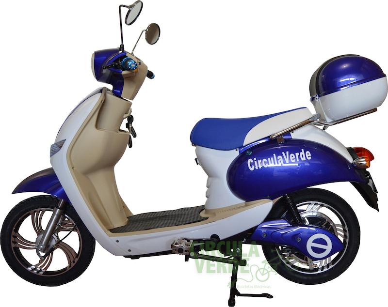 Nueva Urban Bike Azul Blanco a