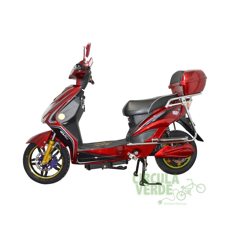 Bicicleta Eléctrica Eagle Roja 48V-20Ah