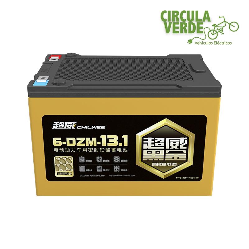 Baterías 12V-13.1Ah selladas grafeno ciclo profundo