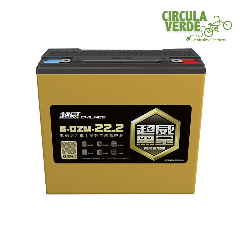 Baterías 12V-22.3Ah selladas grafeno ciclo profundo