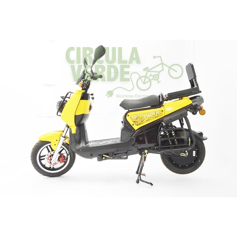 Bicicleta Eléctrica CV2000 Amarilla