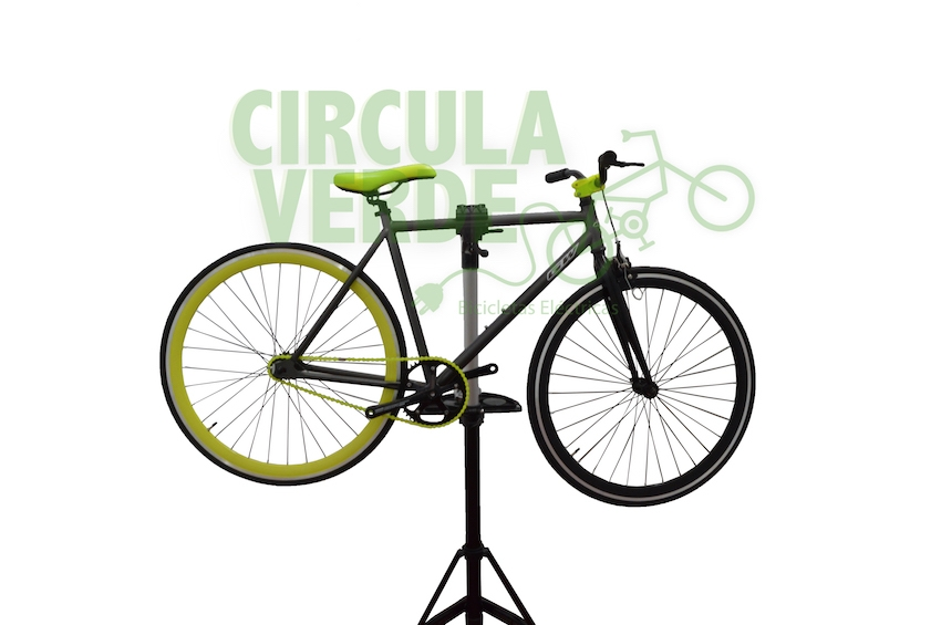 Fixie GW Wall St Negro/Verde
