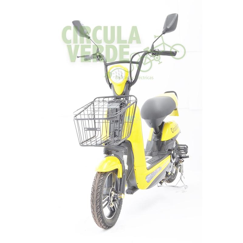 Bicicleta Eléctrica Sport Amarilla
