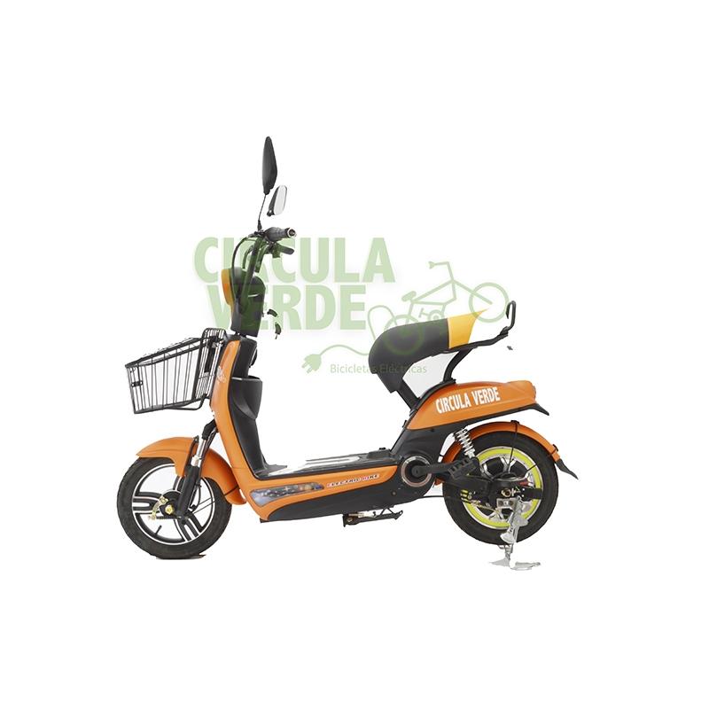 Bicicleta Eléctrica Sport Naranja