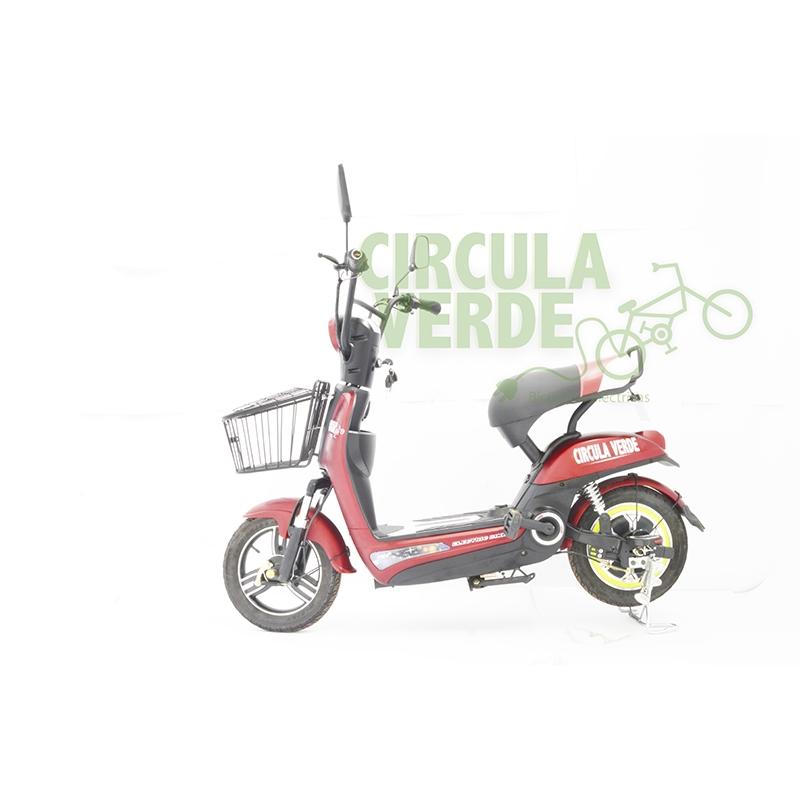 Bicicleta Eléctrica Sport Roja